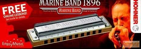 Hohner Marine Band 1896 szájharmonika