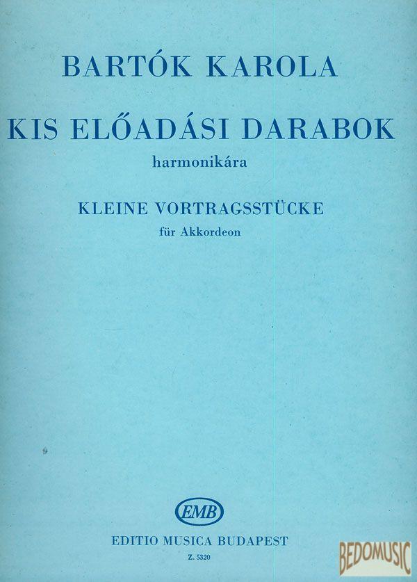 Kis előadási darabok (harmonikára)