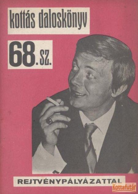 Kottás daloskönyv 68. sz.