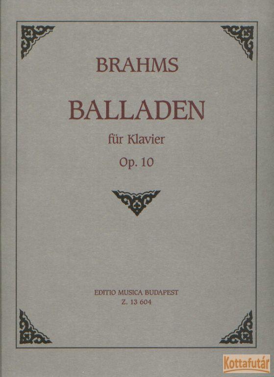Balladen Op. 10