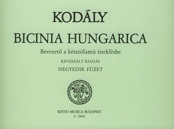 Bicinia Hungarica 4