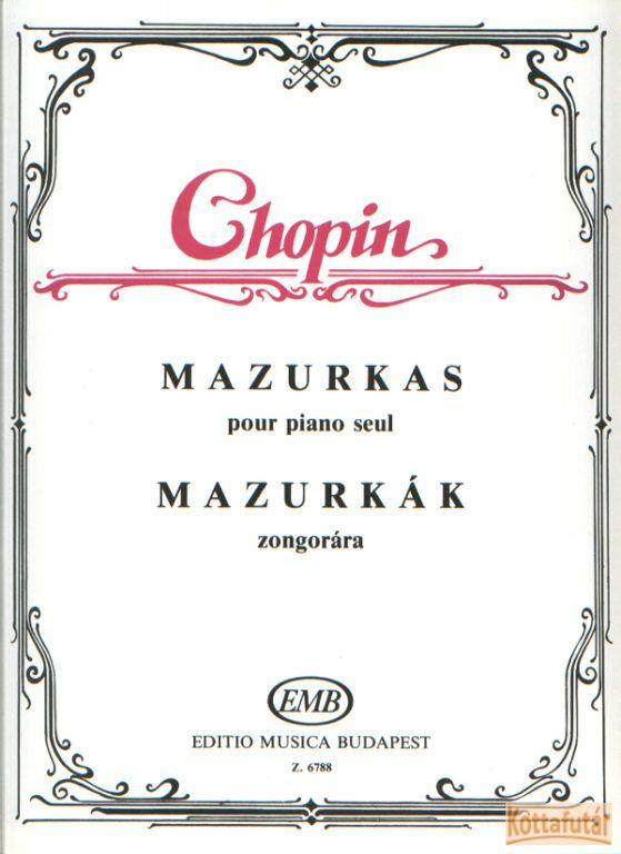 Mazurkák zongorára
