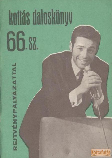 Kottás daloskönyv 66. sz.
