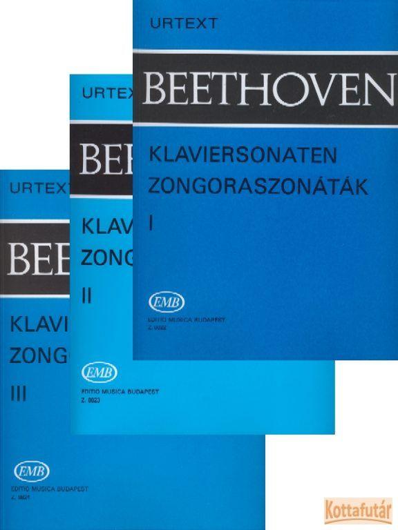 Zongoraszonáták I-III.
