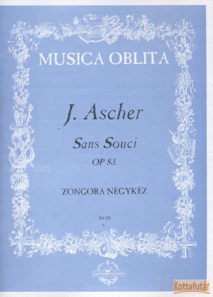 Sans Souci Op. 83. - Zongora négykéz
