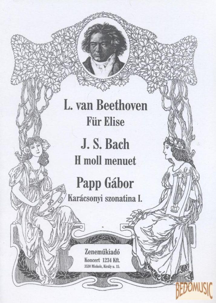 Für Elise / H moll menuett / Karácsonyi szonatina I.