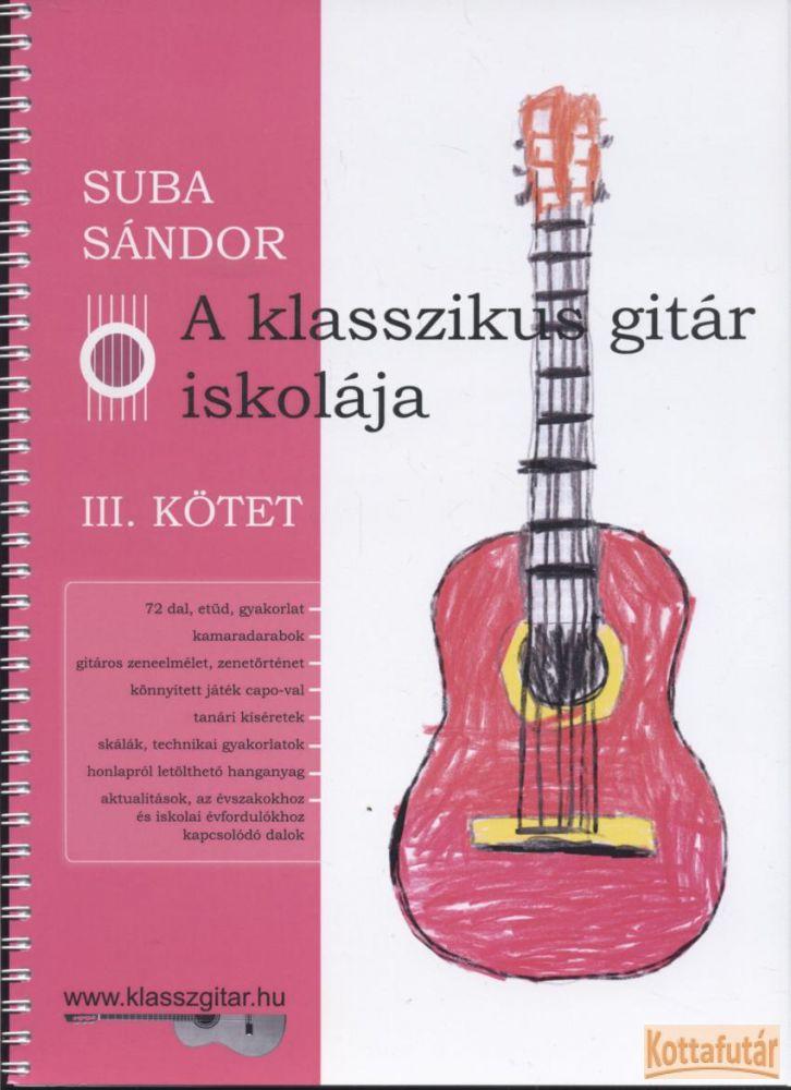 A klasszikus gitár iskolája III.