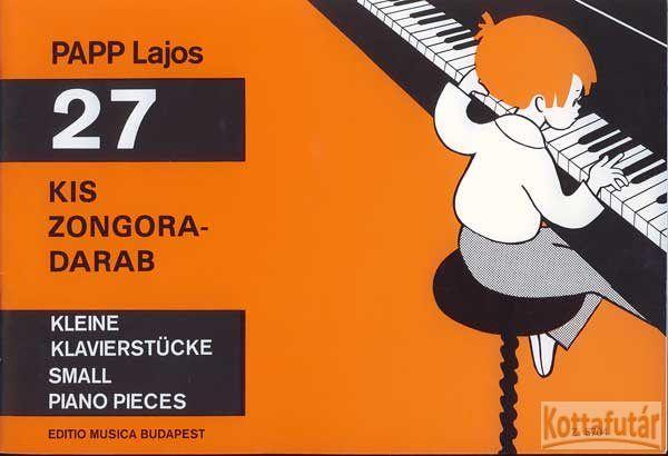 27 kis zongoradarab