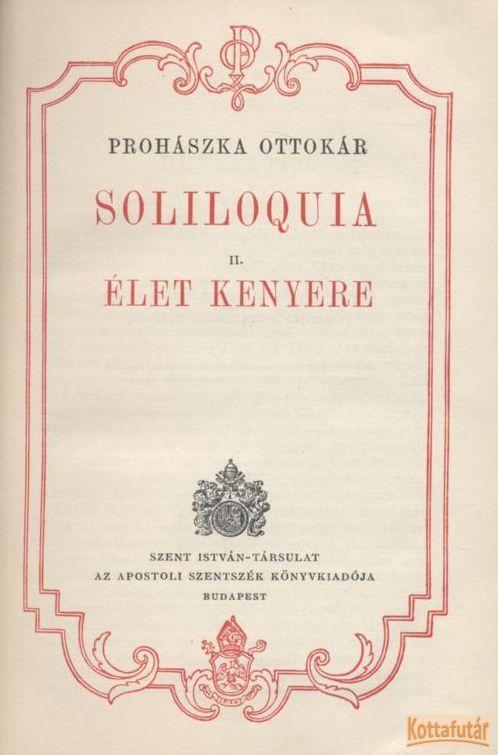 Soliloquia