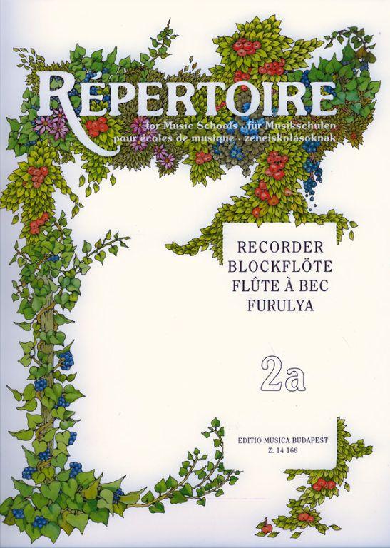 Repertoire zeneiskolásoknak - Furulya 2a