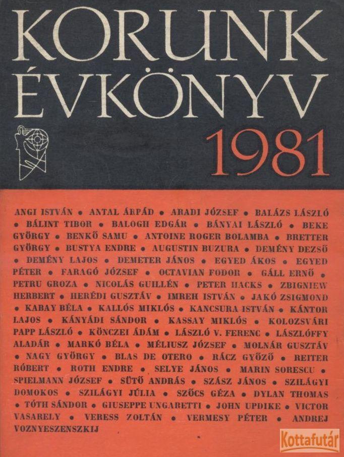 Korunk évkönyv 1981