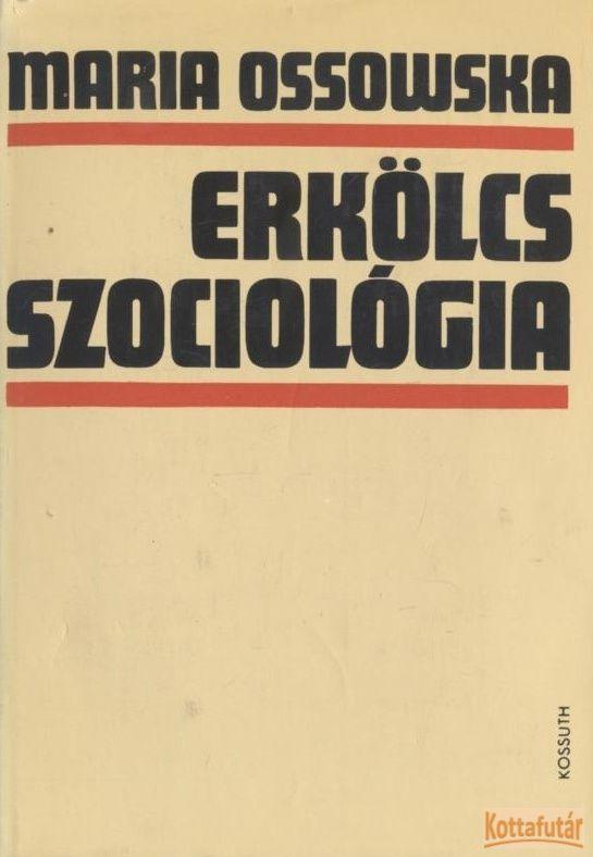 Erkölcsszociológia