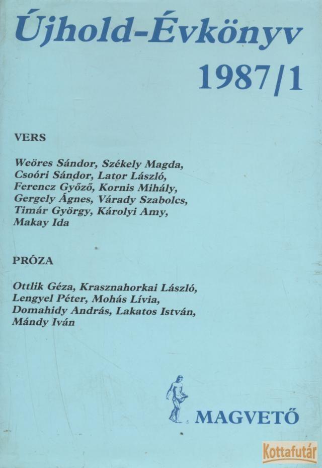 Újhold-Évkönyv 1987/1