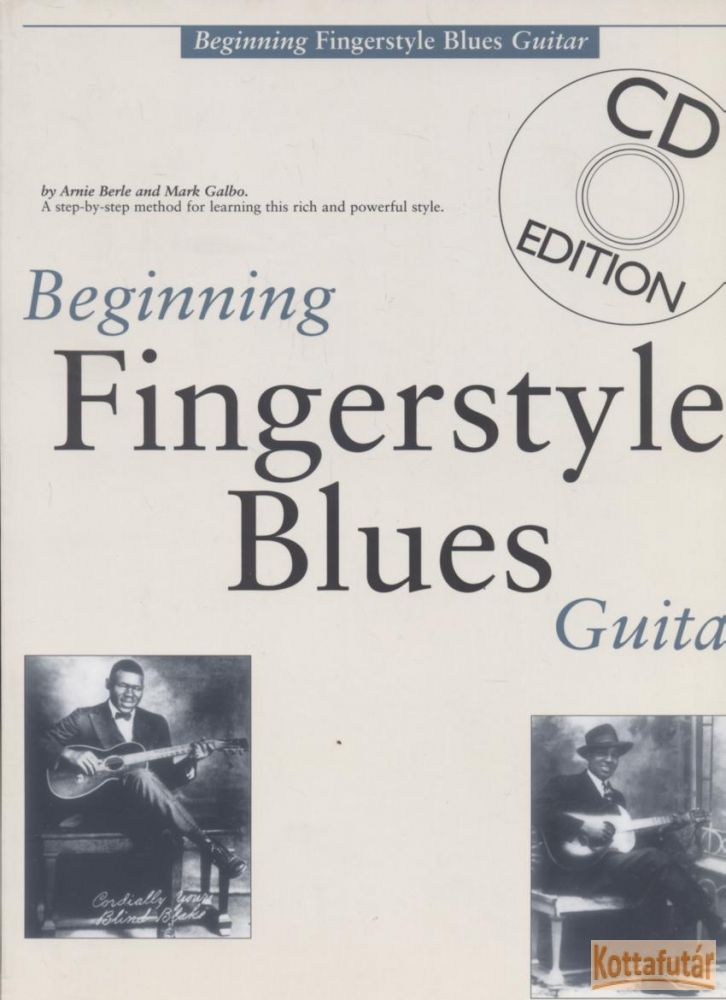 Beginning Fingerstyle Blue Guitar