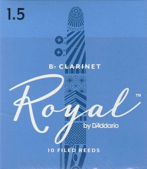 """Rico Royal klarinét nád """"B"""" klarinéthoz."""