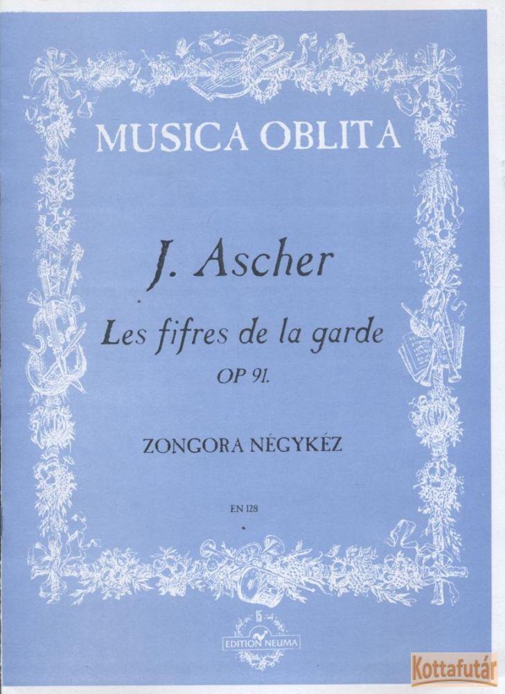 Les fifres de la garde Op. 91. - Zongora négykéz