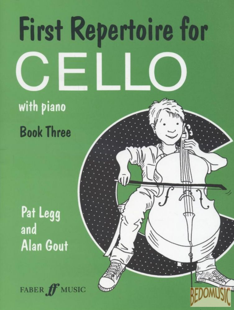 First Repertoire for Cello. Book 3