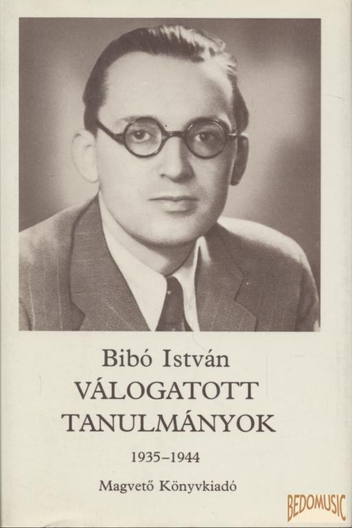 Válogatott tanulmányok I. kötet 1935-1944