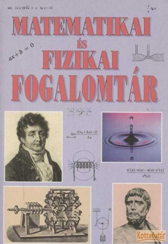 Matematikai és fizikai fogalomtár