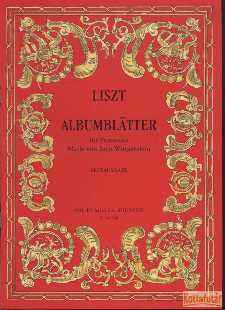 Albumlapok Marie von Sayn-Wittgenstein hercegkisasszony számára