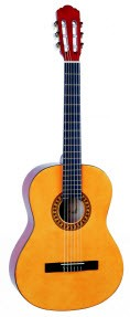 TOLEDO CG100 1/2-es klassszikus gitár.