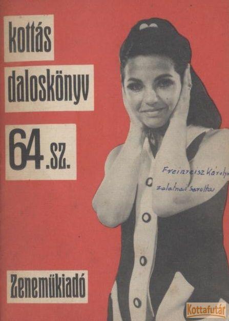 Kottás daloskönyv 64. sz.