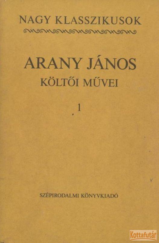 Arany János költői művei I-III.