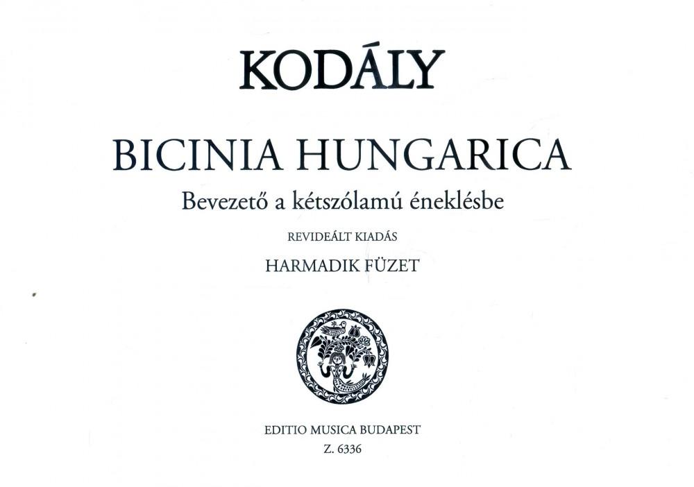 Bicinia Hungarica 3