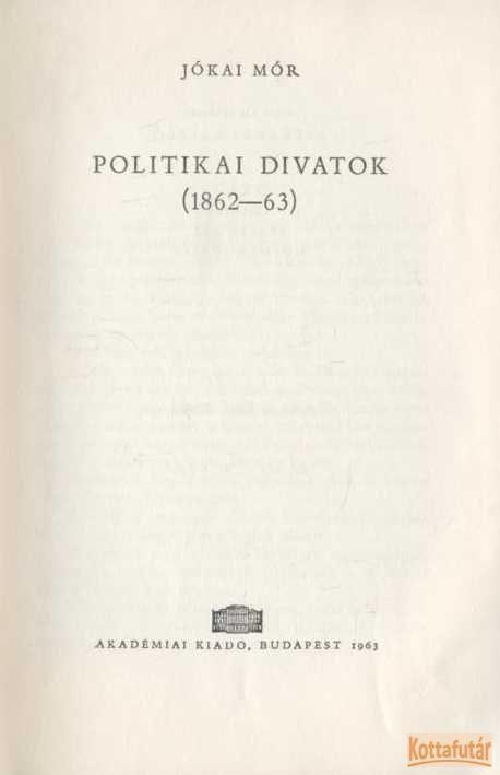 Politikai divatok