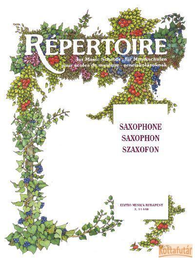 Répertoire zeneiskolásoknak - Szaxofon
