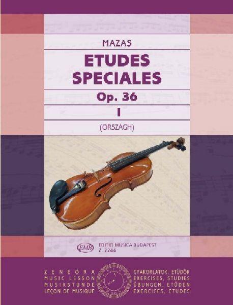 Etudes speciales 1.