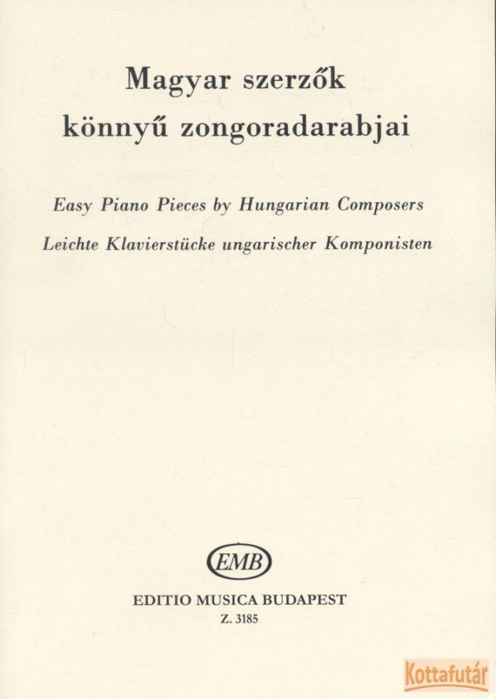 Magyar szerzők könnyű zongoradarabjai