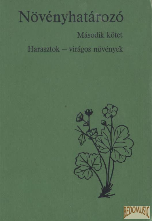 Növényhatározó I-II.