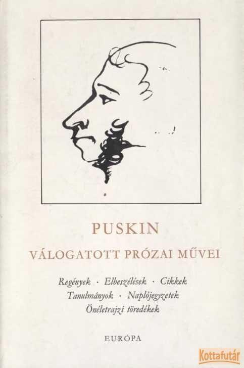 Puskin válogatott prózai művei