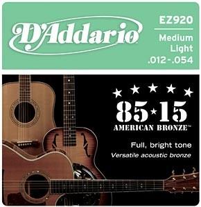 D'Addario EZ920 húrgarnitúra akusztikus gitárhoz