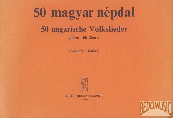 50 magyar népdal