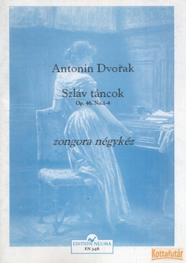 Szláv táncok Op. 46. No. 1-4 zongora négykéz