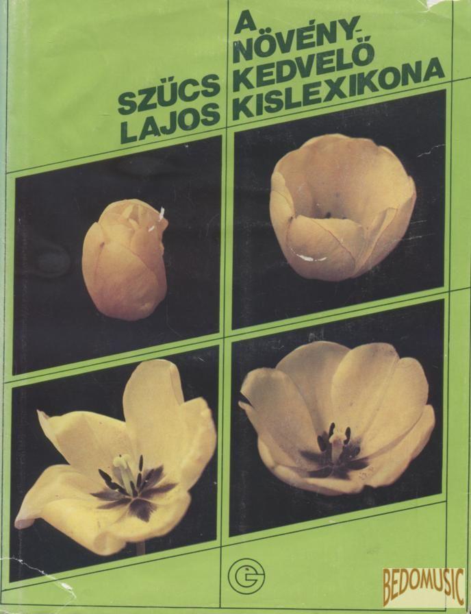 A növénykedvelő kislexikona