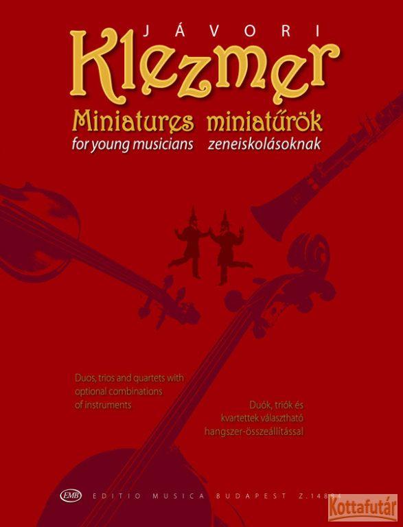 Klezmer miniatűrök zeneiskolásoknak