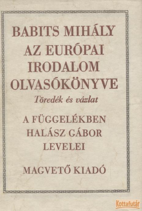 Az európai irodalom olvasókönyve