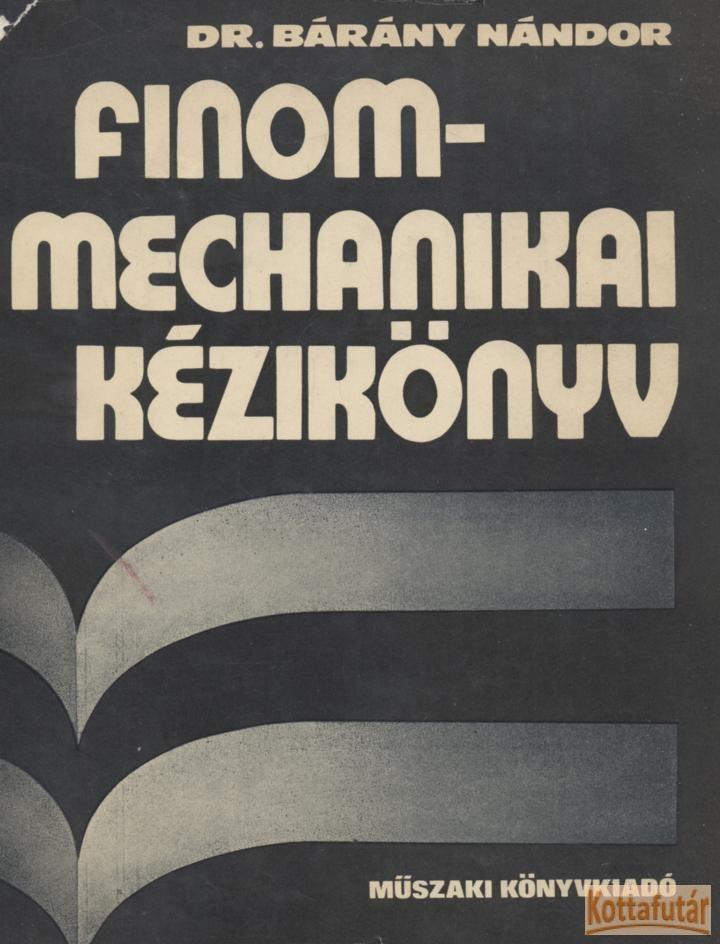 Finommechanikai kézikönyv