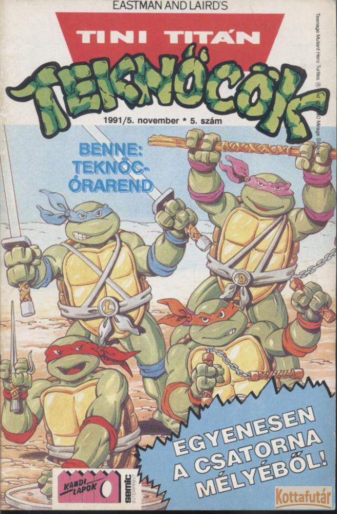 Tini Titán Teknőcök 1991/5. 5. szám