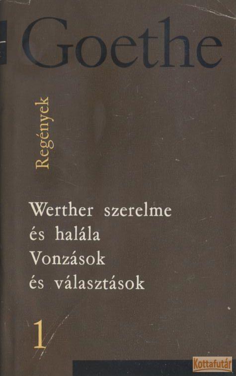 Goethe válogatott művei I-V.