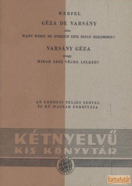 Géza de Varsány / Varsány Géza