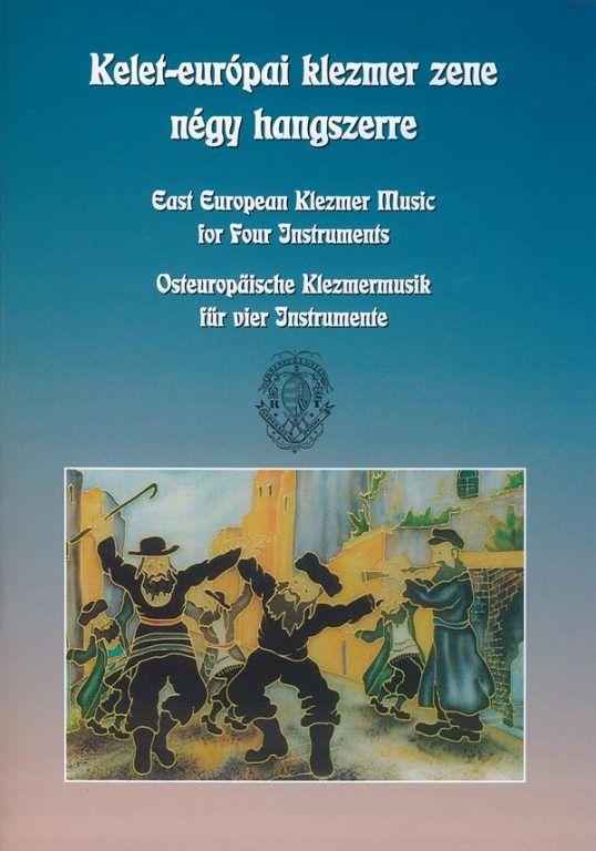 Kelet-európai klezmer zene négy hangszerre