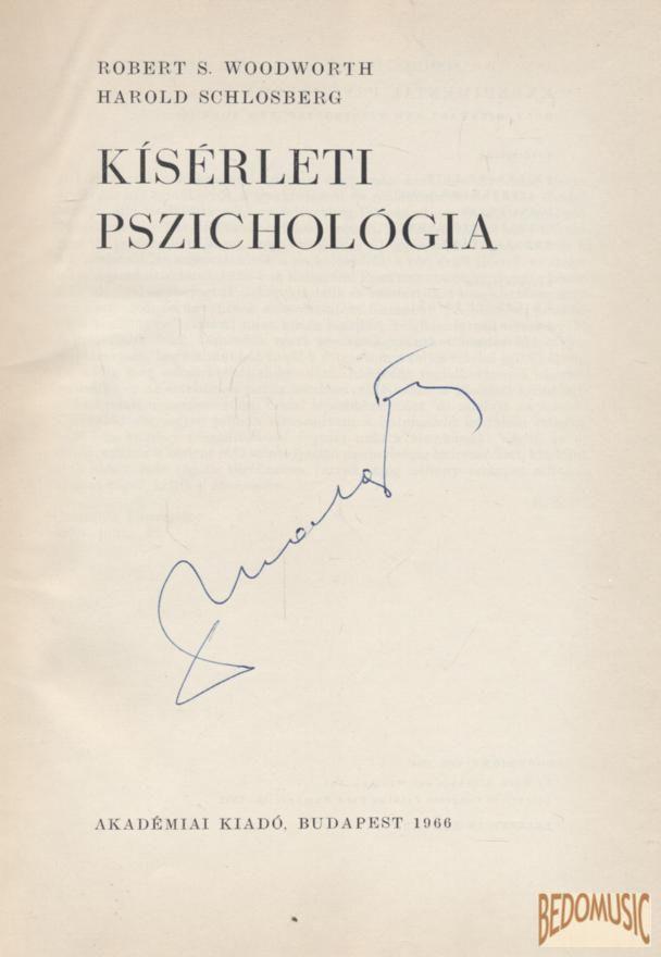 Kísérleti pszichológia