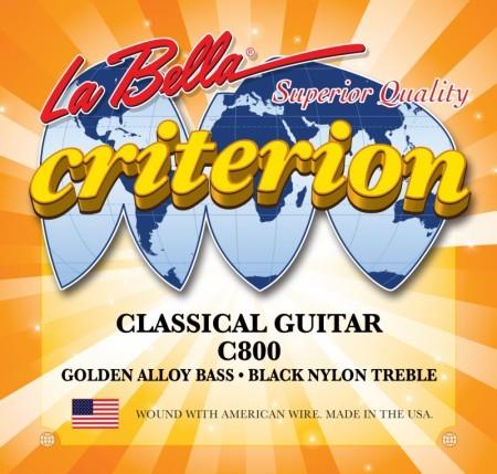 La Bella Criterion C800 húrgarnitúra klasszikus gitárhoz