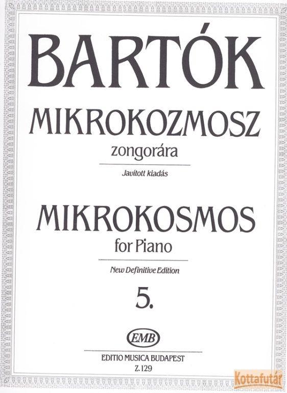 Mikrokozmosz zongorára 5.