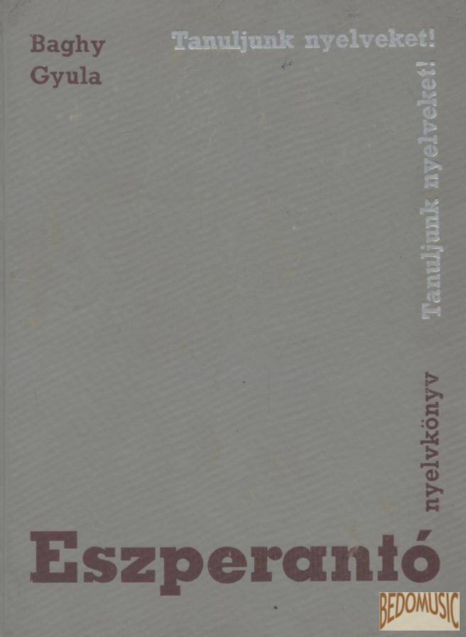Eszperantó nyelvkönyv (1968)