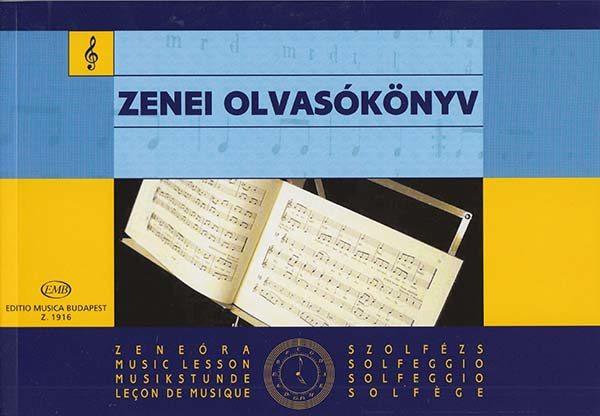 Zenei olvasókönyv - Szolfézs példatár alsófok 3.